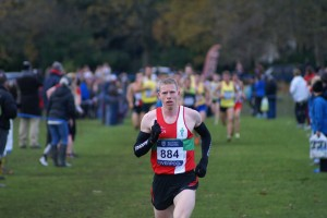 Andy Vernon winning the Cross Challenge at Liverpool Saturday 22nd Nov. 2013