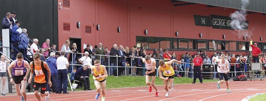 Blackburn Harriers and Athletics Club stands550