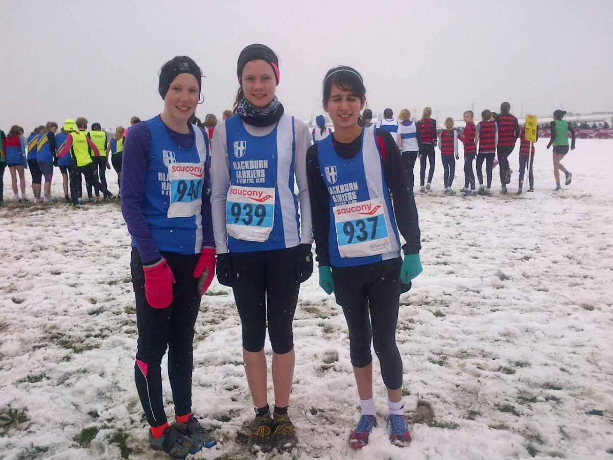 2013 National Cross Country Championships at Sunderland Feb 23rd