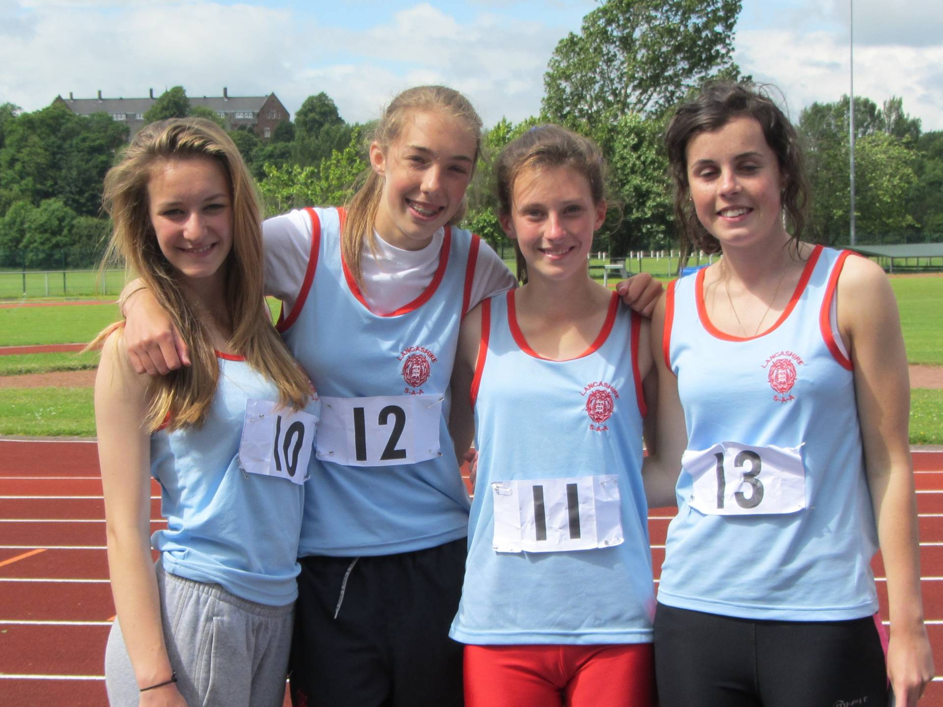 PB's All Over The Place for the Harriers – (at ESAA North West Schools' Combined Events Championships)