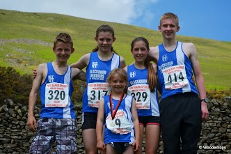 UPHILL All the way at Sedbergh