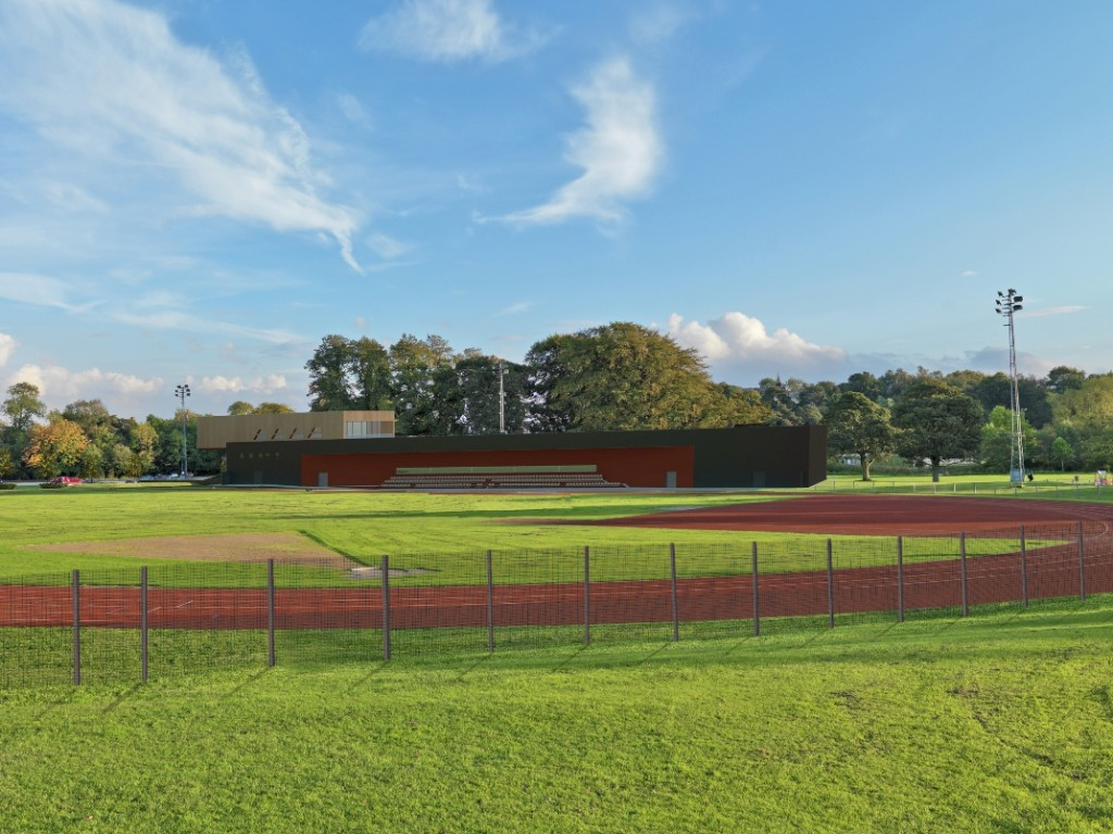 Witton Park Athletics Facility Fence view