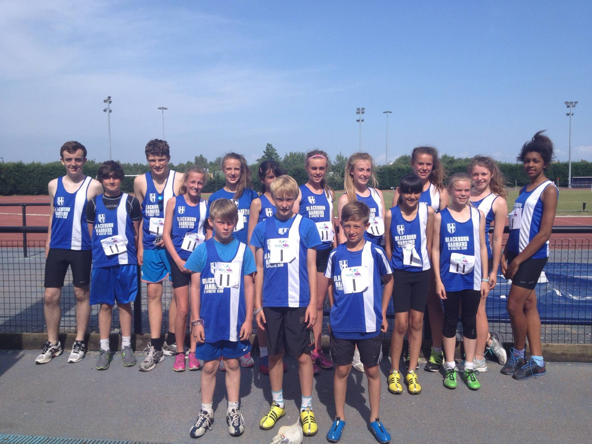 Harriers U13 & U15 Athletes produce lots of PB's at final YDL Fixture
