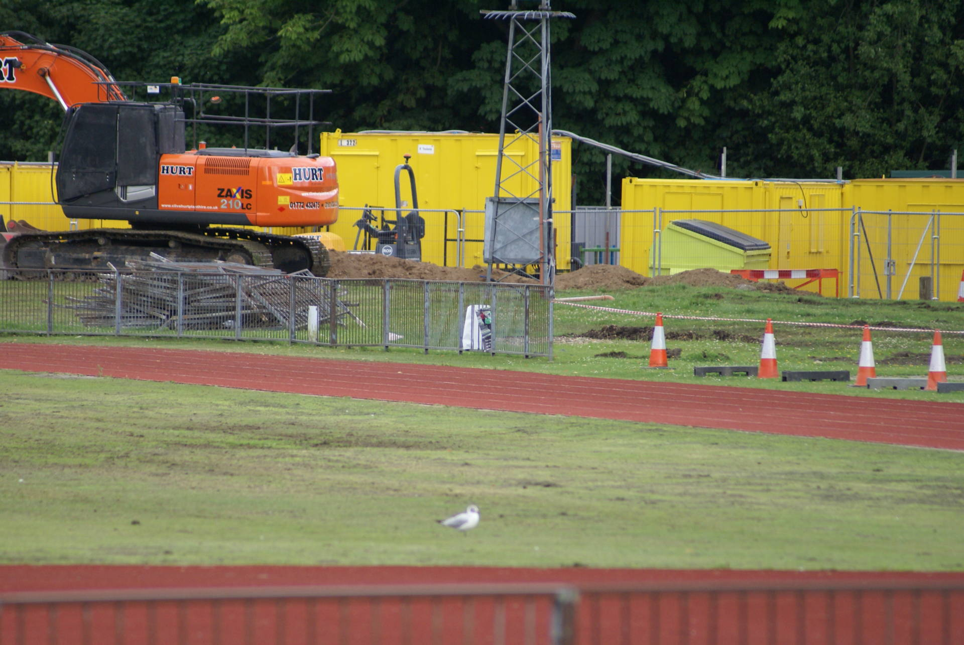 New Indoor Training Facility Work Gets Underway…..They are 'Piling' It In