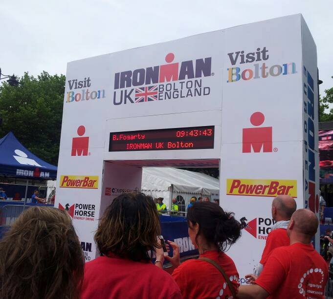 Great Ironman Performance by Brian Fogarty at Bolton….now for Kona!