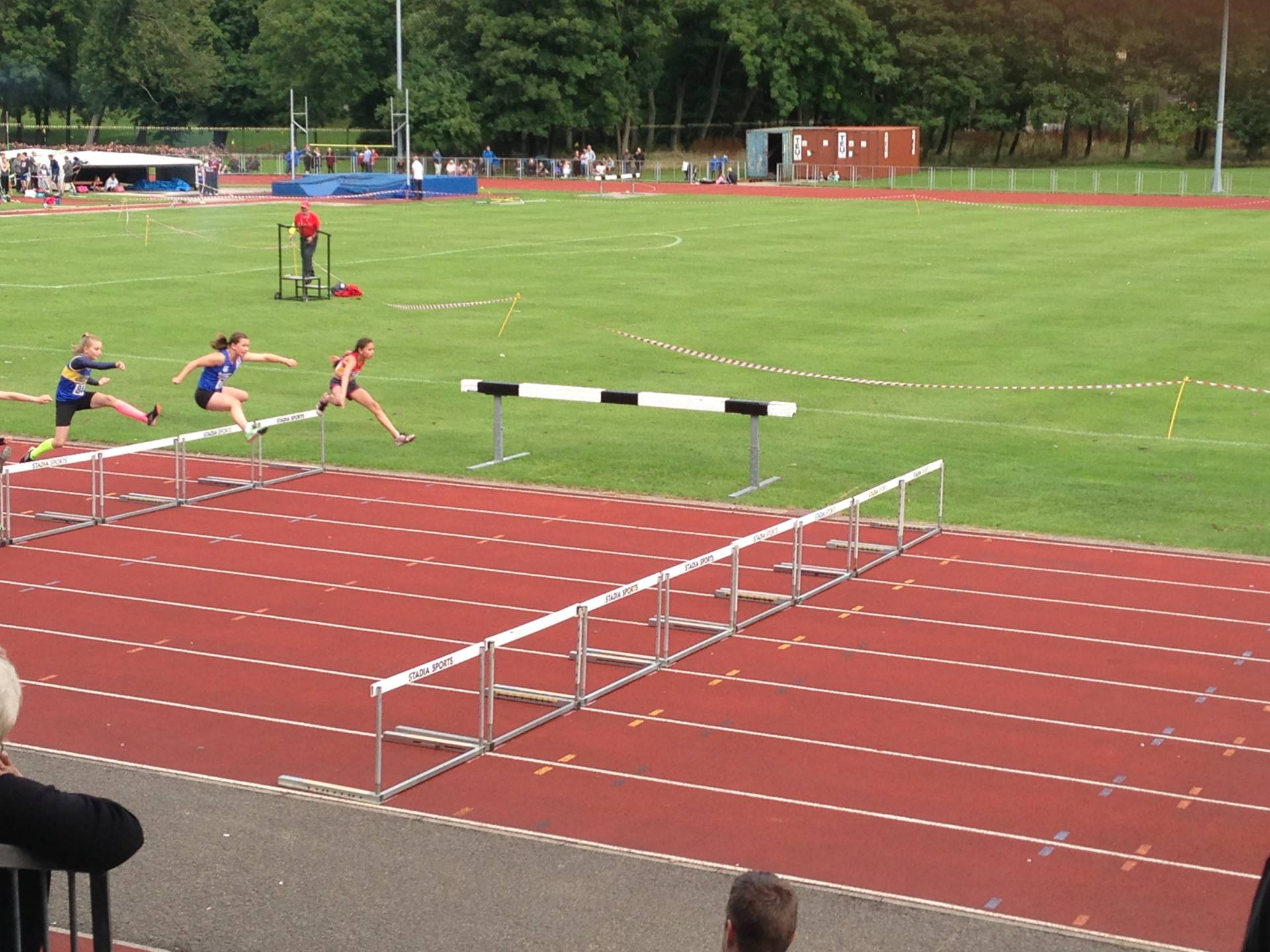 Young Athletes at Blackpool Medal Meeting – Alison in Amsterdam