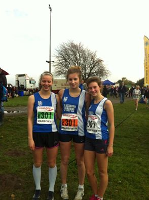 English Cross Country Relay Championships at Mansfield