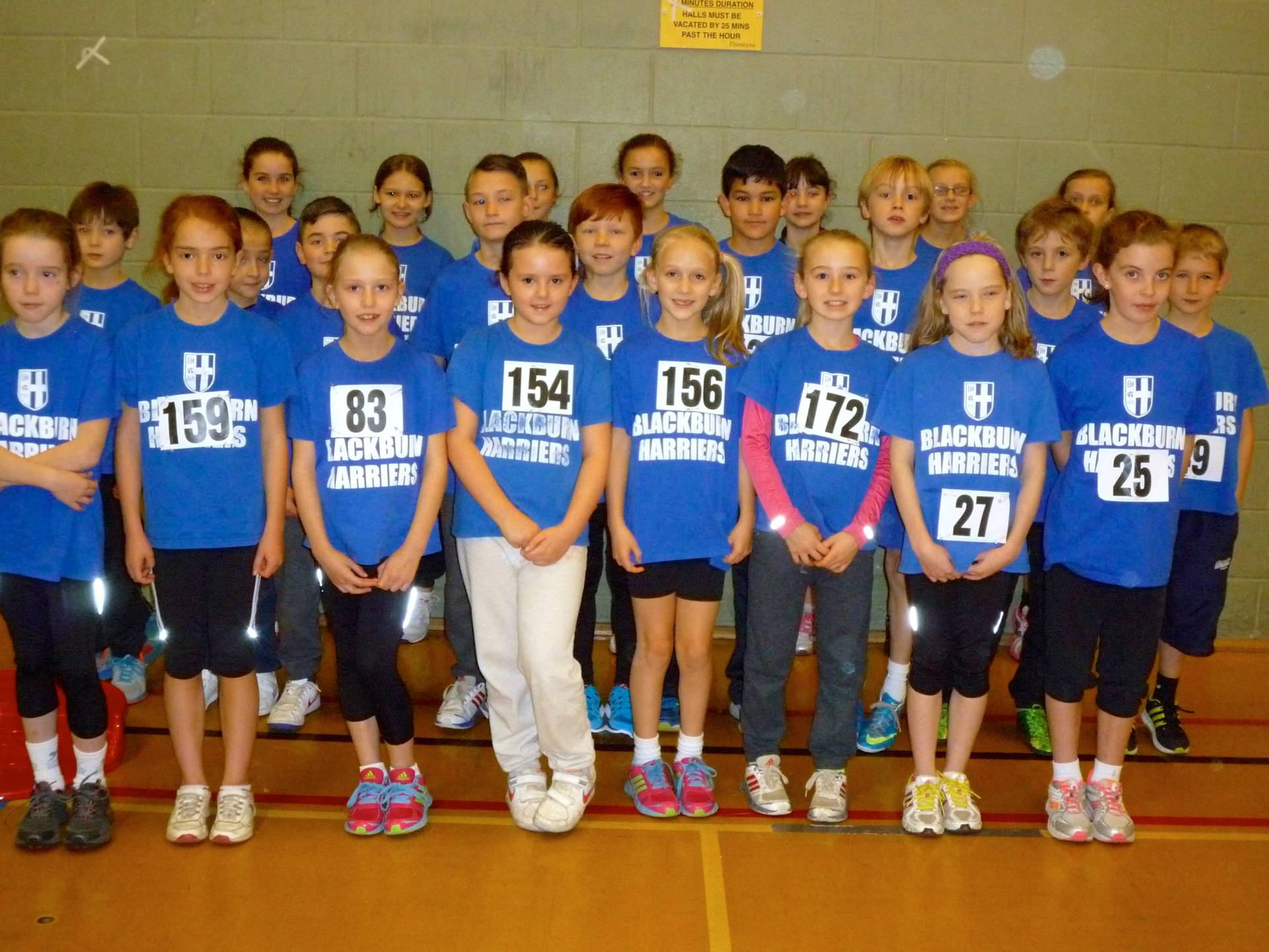 First Sportshall Fixture of the Season for Blackburn Harriers