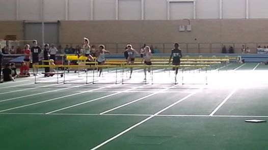 Harriers go Indoors for Competition