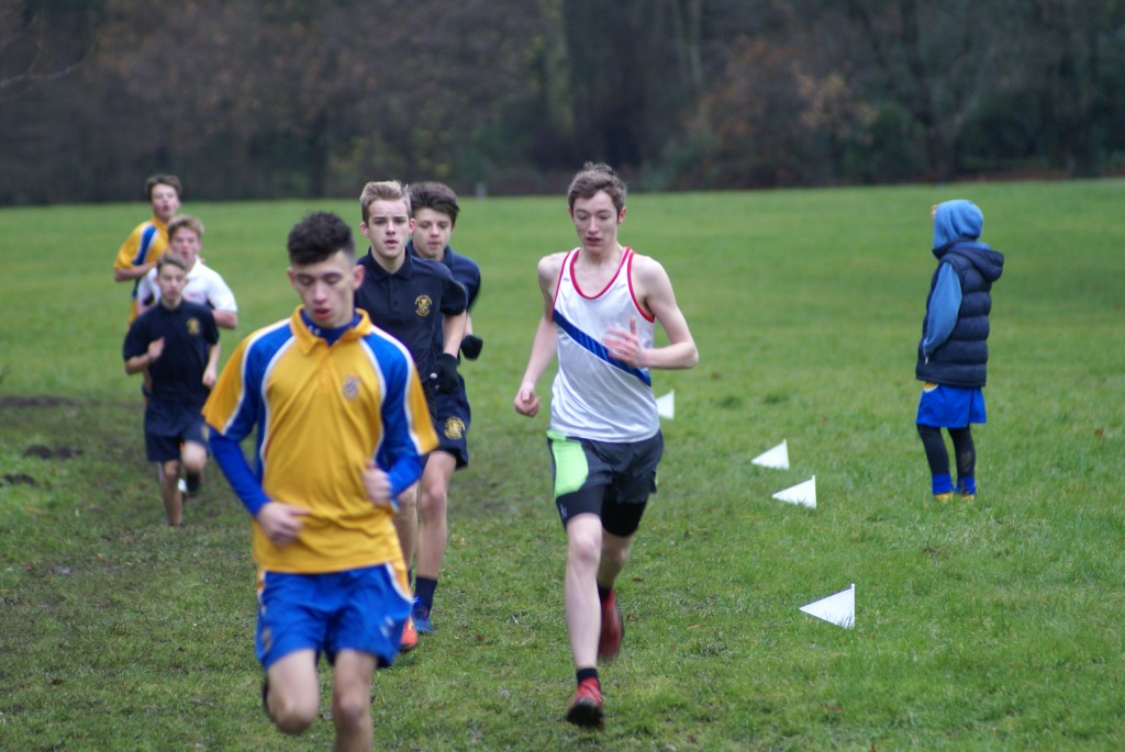 Robert Buckley, Byron Abbott & Liam Atkinson- Blackburn Schools XC