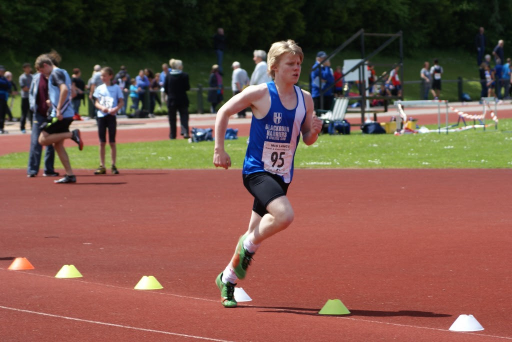 Cameron Massey – Northern Indoor u15 60m hurdles champion