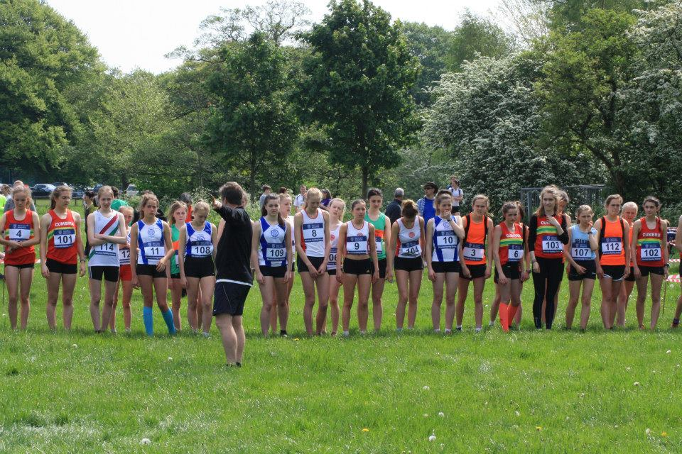 Inter-Counties Fell Championships at Witton Park, Blackburn Sunday May 18th