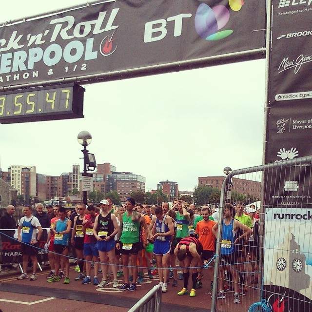 Ben Fish Wins Liverpool Marathon and more Results