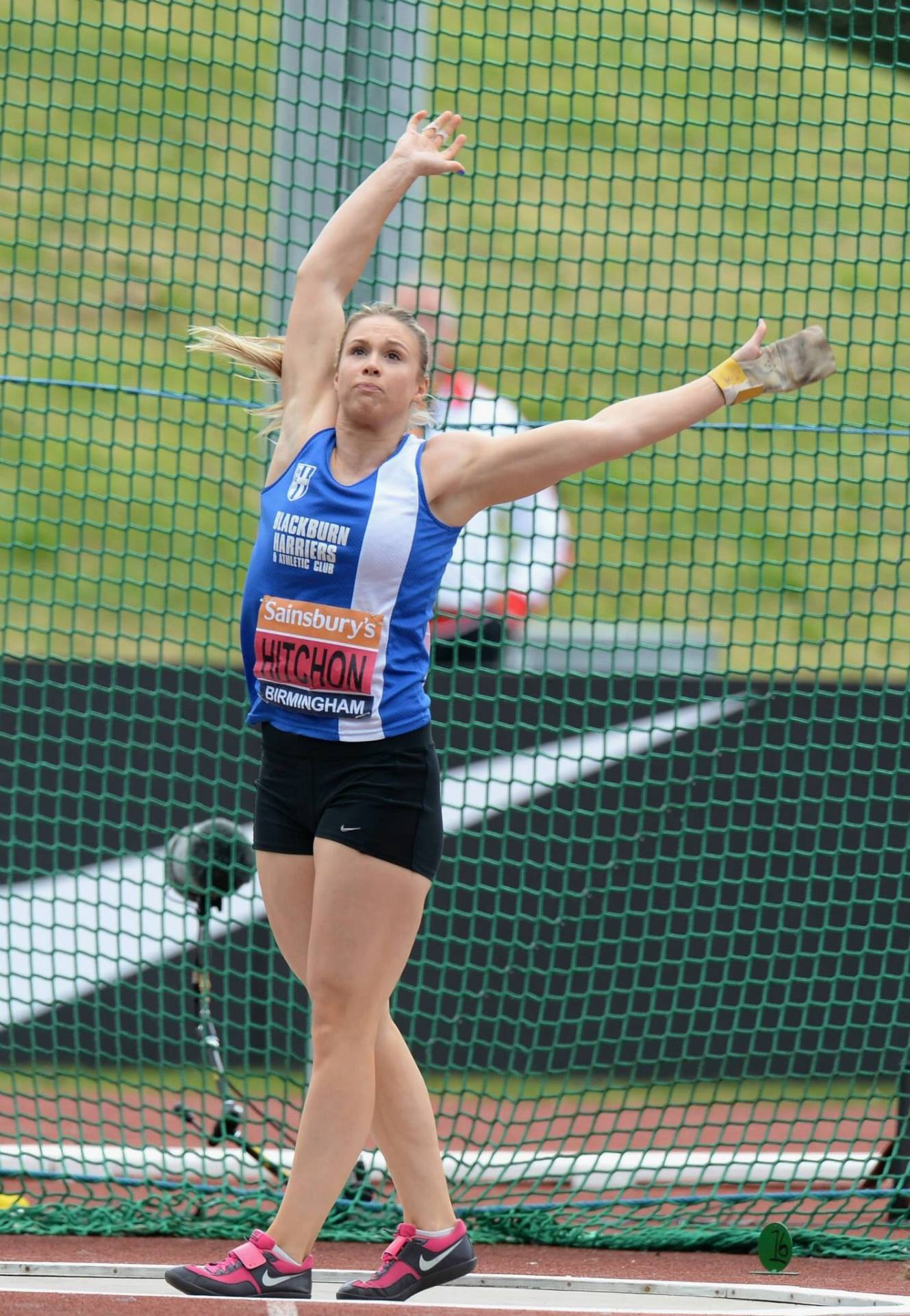 Gold and Silver for Sophie and Alison at the National T & F Championships –