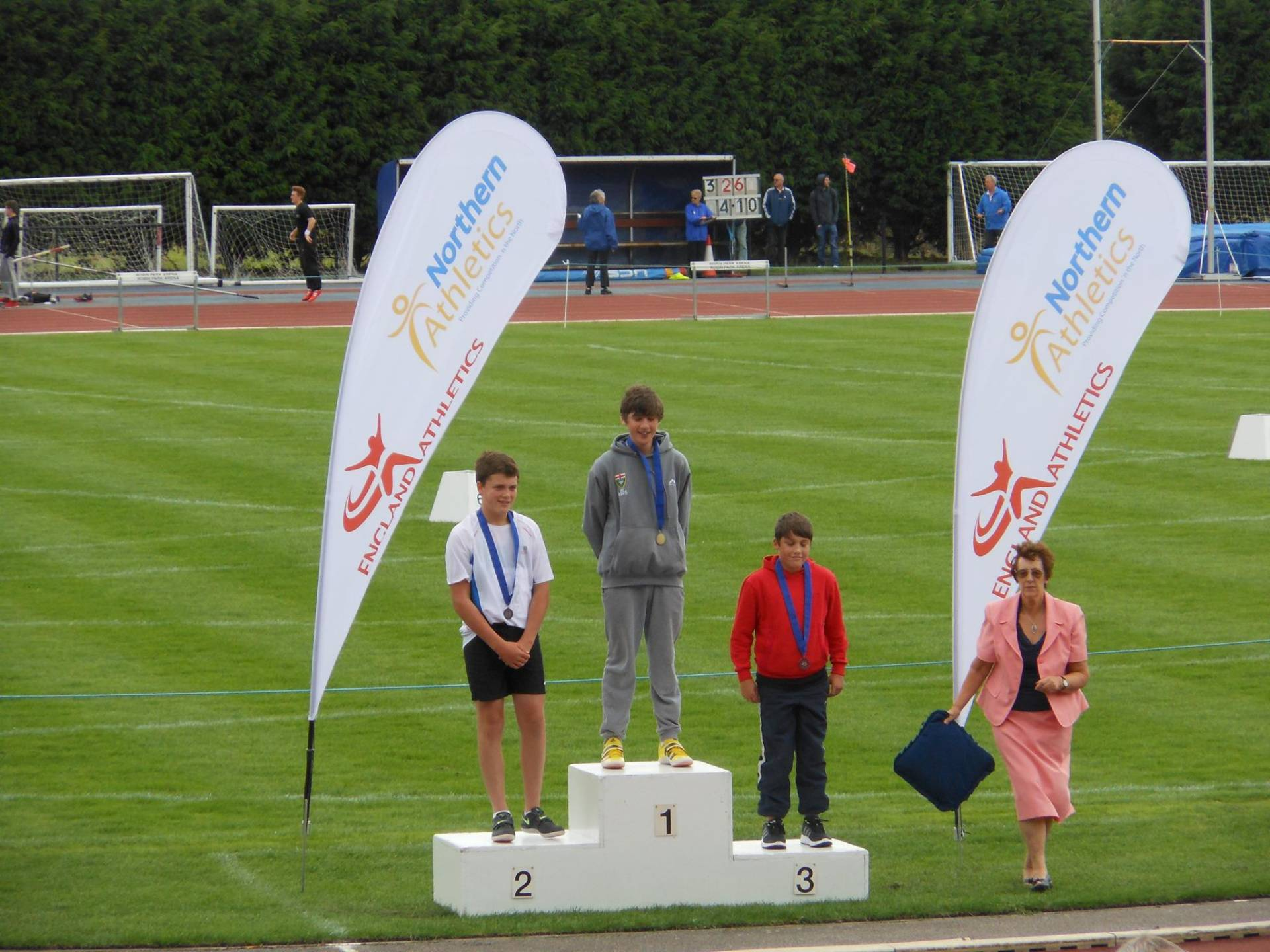 Gold, Silver & Bronze Medals for the Harriers at U15 & U17 Northern T & F Championships  – and Inter-Counties Junior Championships