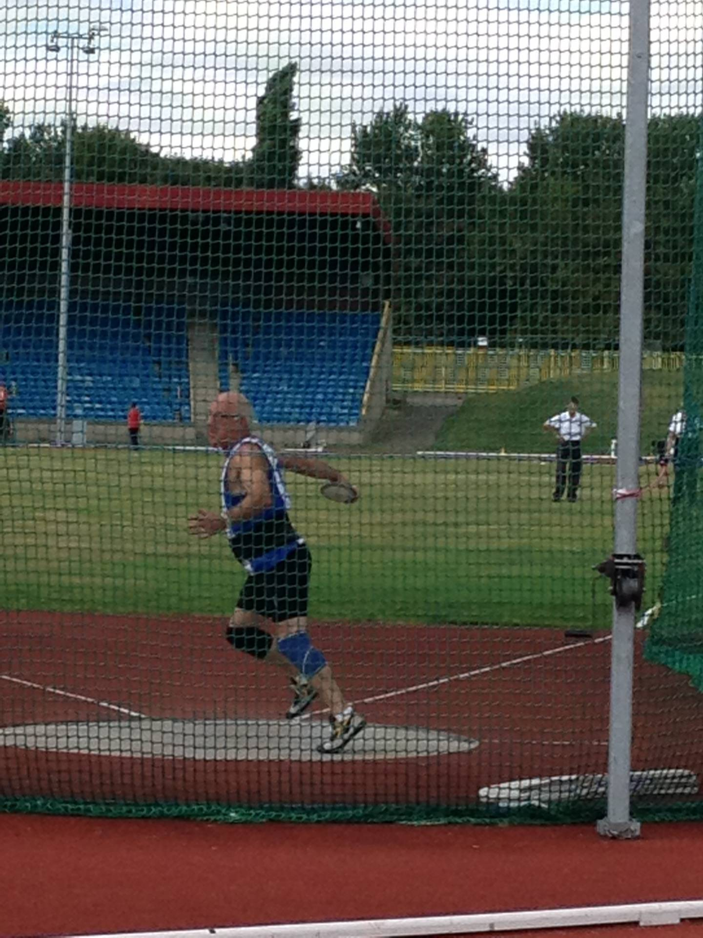 Mike Hazlewood going strong at Vets Championships Home and Abroad