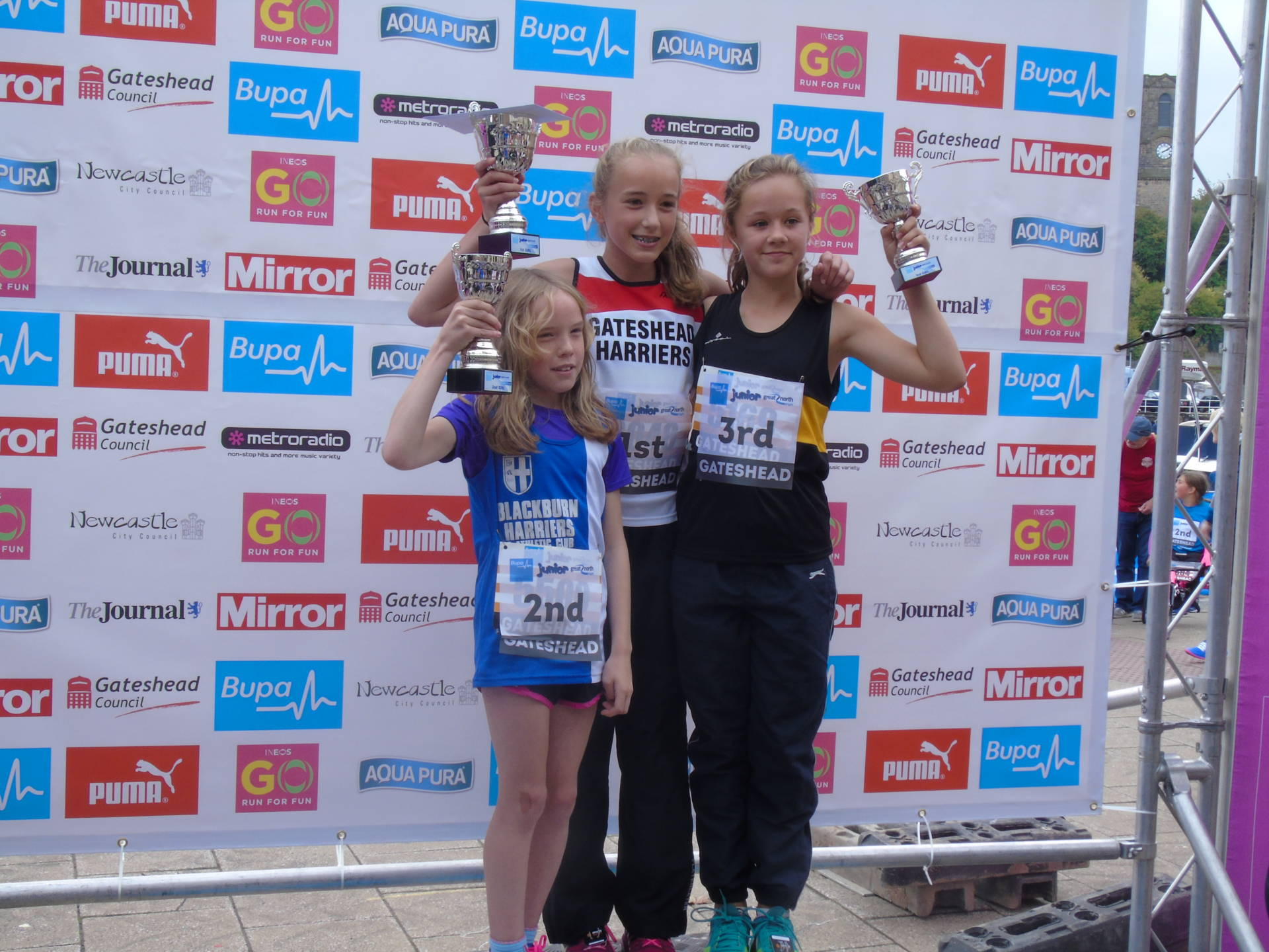 Recent Road & Fell Results – (Liz wins Selection for England and Amy is 2nd at Great North Junior 4k Run)