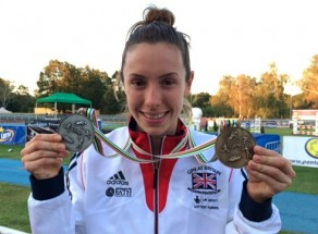 Samantha Wins Gold, Silver and sets new World Record