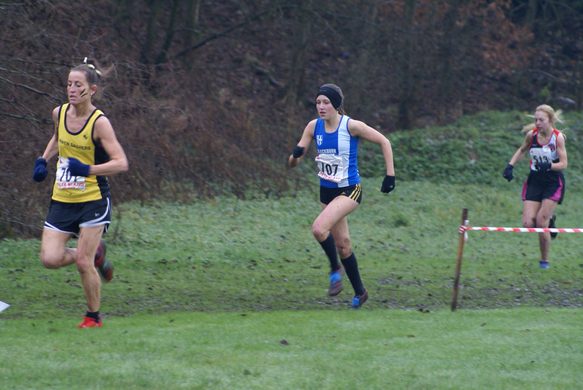 Red Rose Cross Country on the 'infamous' Marl Pits Course with Wins for Grace and Megan