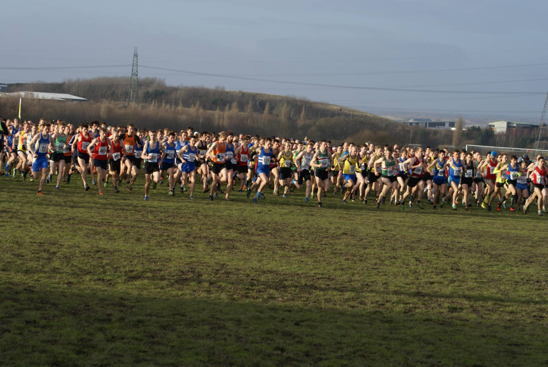 Results Round-Up for the Harriers including Northern Cross Country Championships.