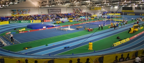 Indoors at BUCs with Joe Pearse & Birmingham Grand Prix with Alison Leonard