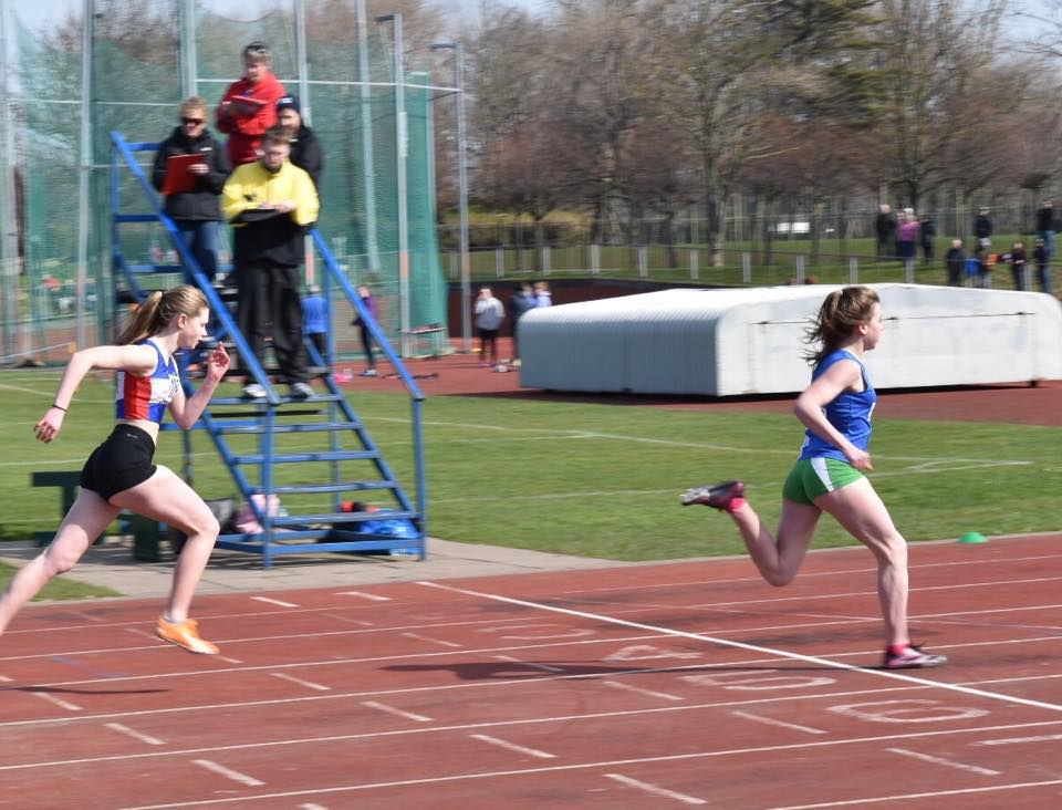 Harriers Indoors and Outdoors & setting new PB's