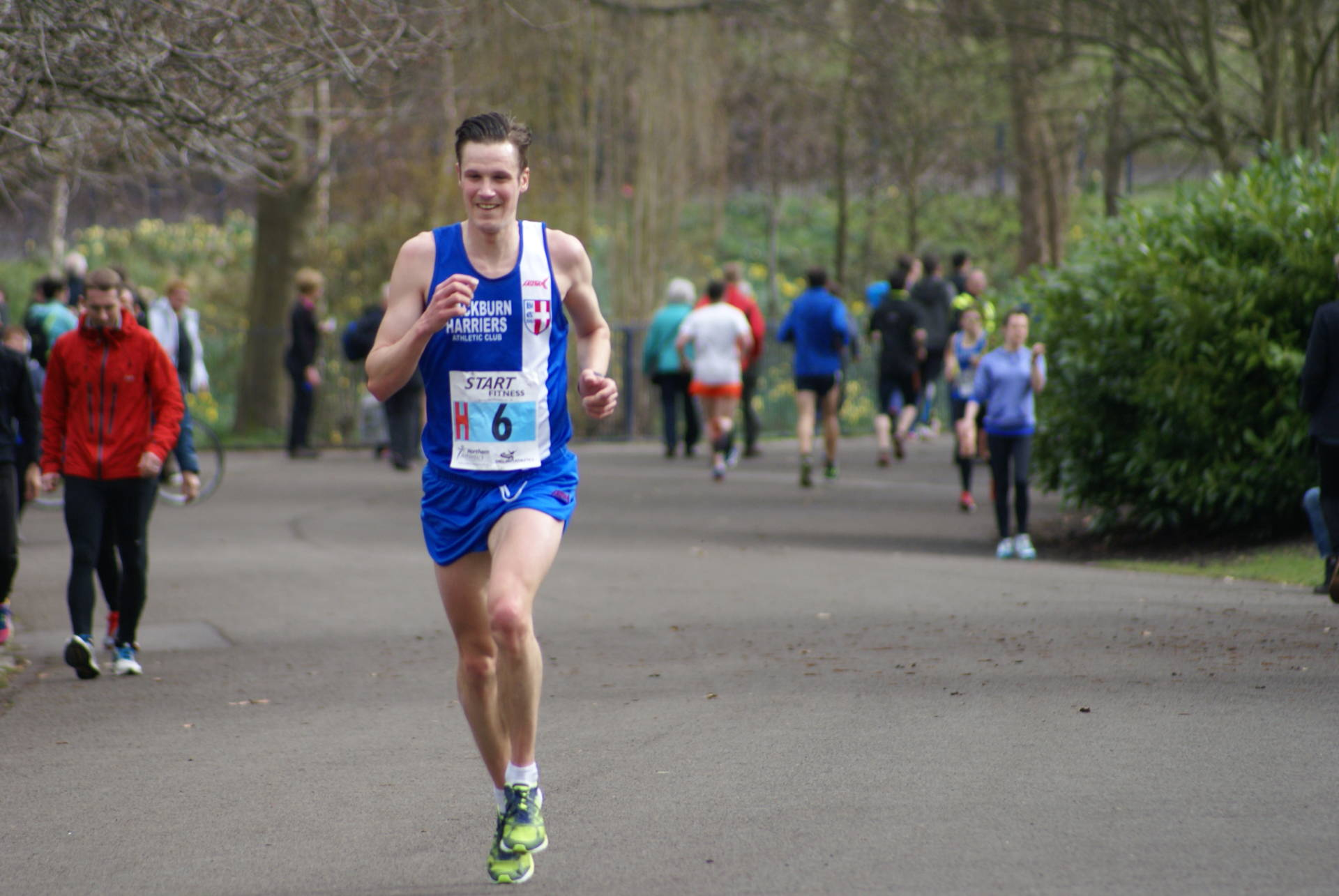 Northern 12 & 6 Stage Road Relays at Sefton Park