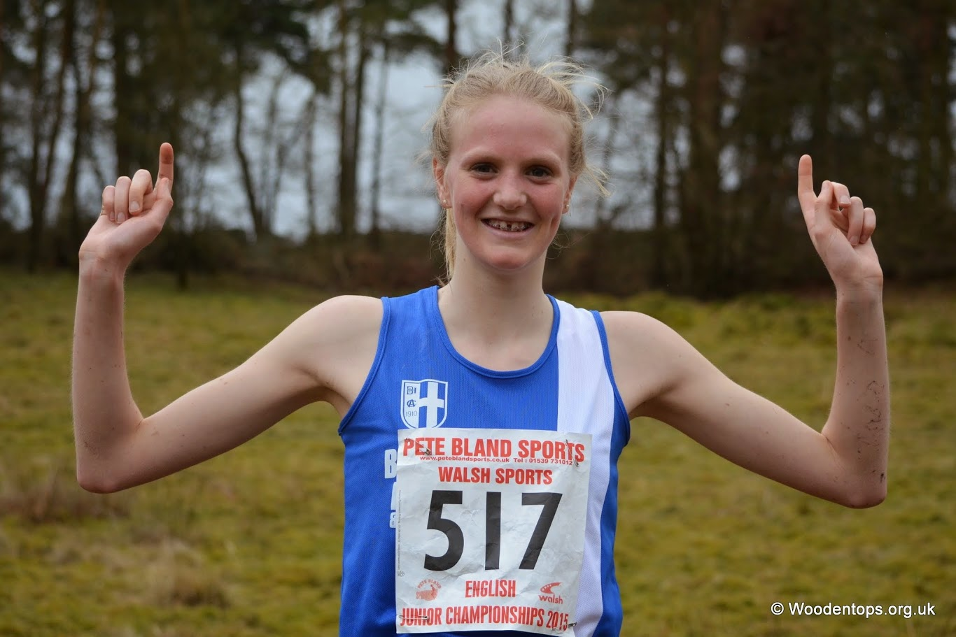 It's Wins and PB's all the way for Harriers Young Athletes