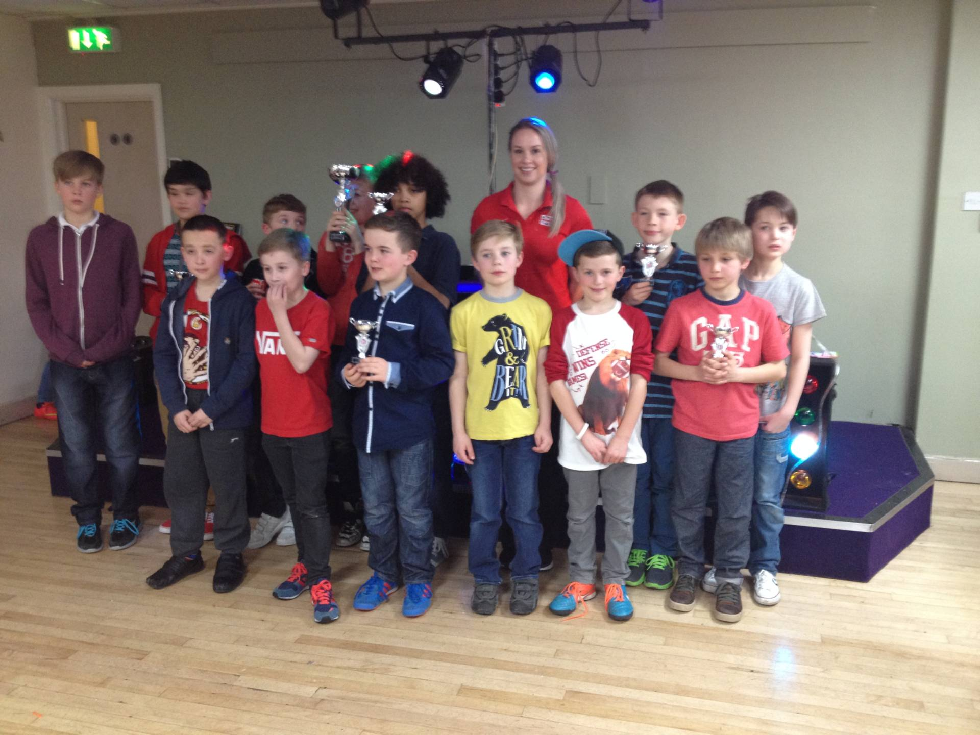 Sportshall Awards & Disco with Olympian Sophie Hitchon