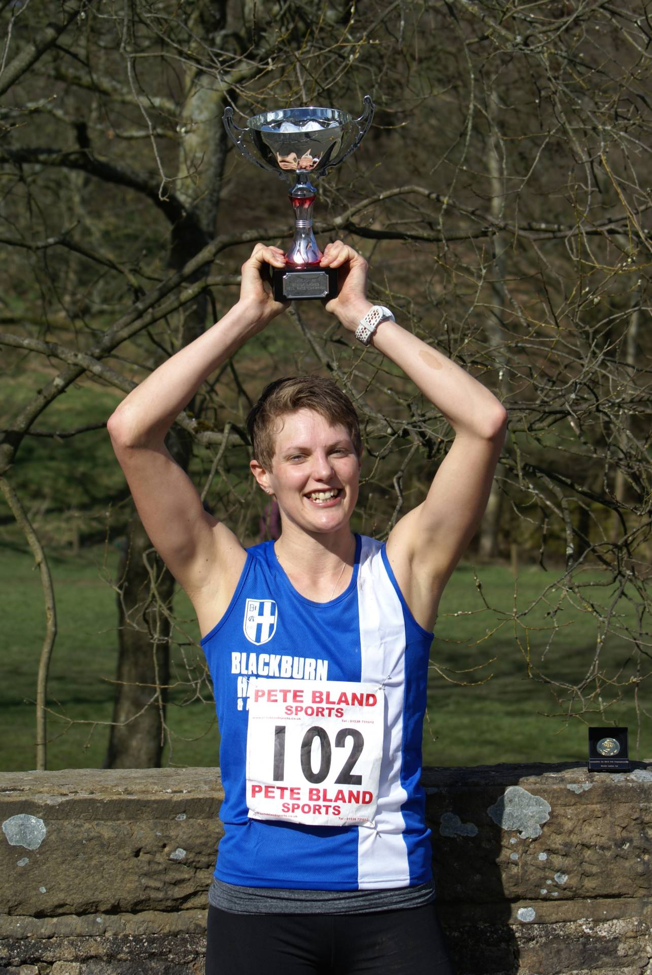 Five Lancashire Titles for the Harriers at Pendle – Rivington Pike Race & Good Friday Salford 10k