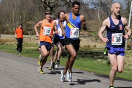 National 12 Stage Road Relays with the Harriers