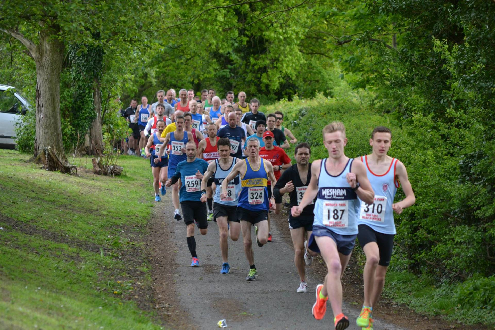 On the Roads with the Harriers – Top Three finish for Ben at Chester Half-Marathon