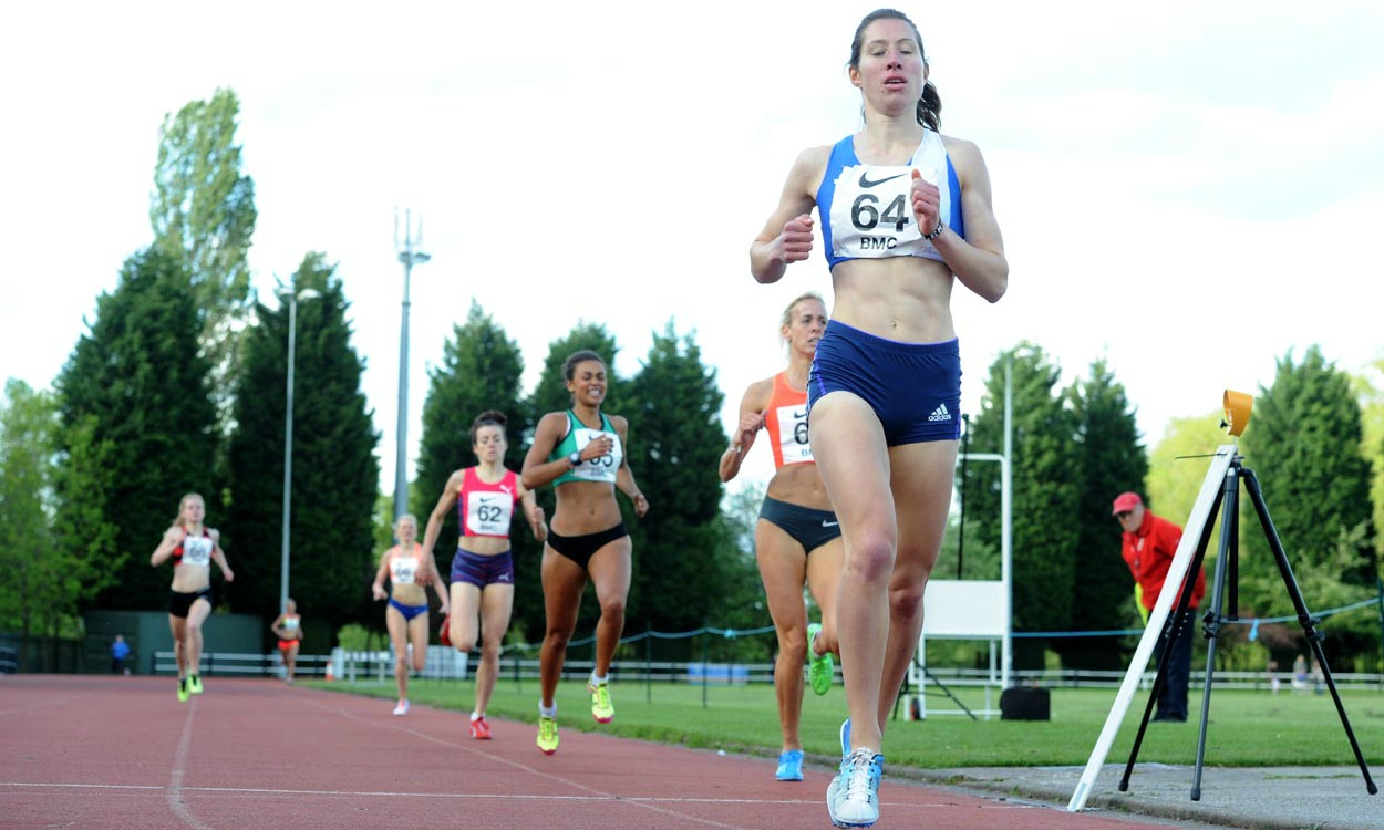 Sophie qualifies for the World Chanmpionships in the Hammer  – Alison beats Lynsey Sharpe at Trafford – Karl sets new 10000m Track PB