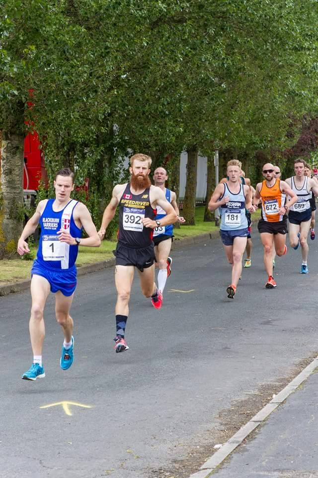 Fantastic nine in a row for Ben – Podium 5k – a Win for Jack Hindle & 2nd for Josh at Turner Up-Hill – Aggies Staircase – Pilling 10k