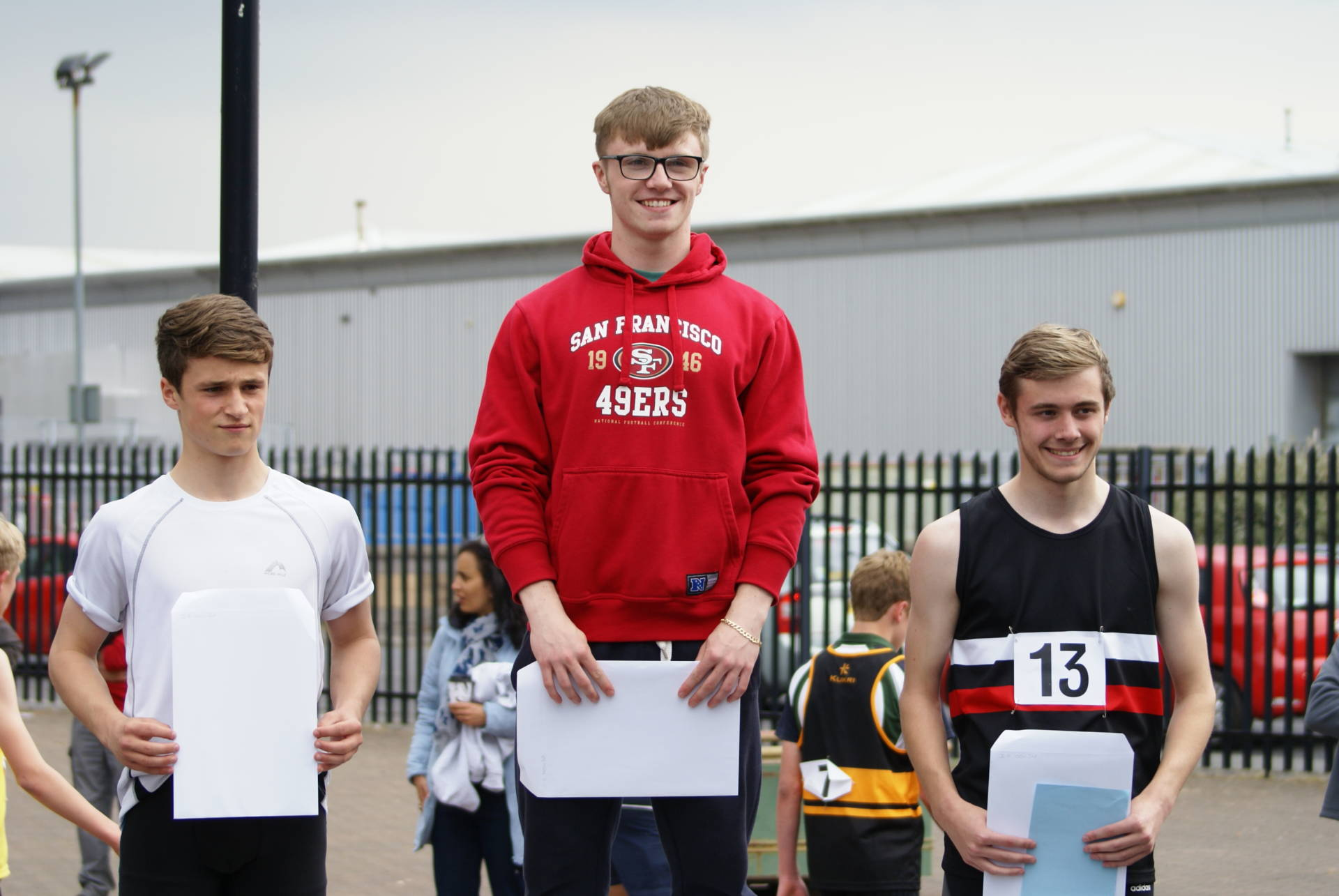 Harriers at the Lancashire Schools Championships