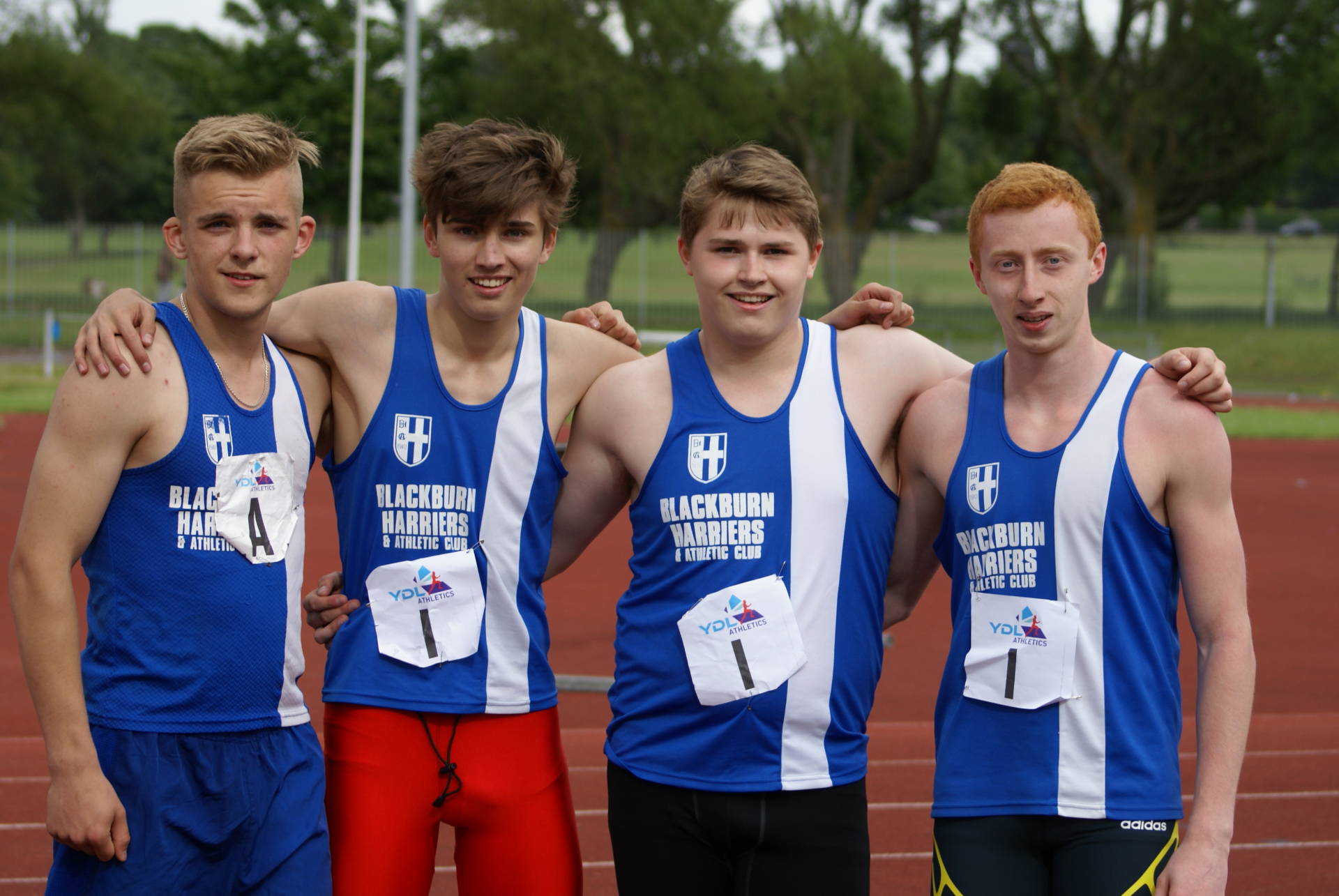 Another good performance by the Harriers – 2nd place in the YDL Division One at Liverpool