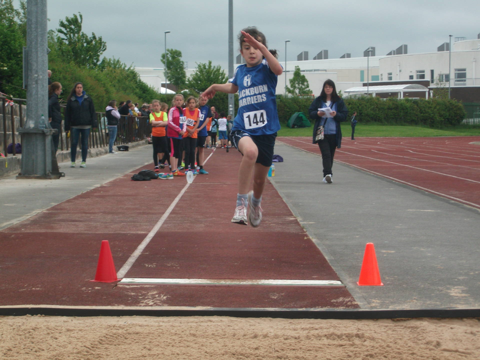 Harriers U11's shine at Burnley Open Meeting with PB's and several wins