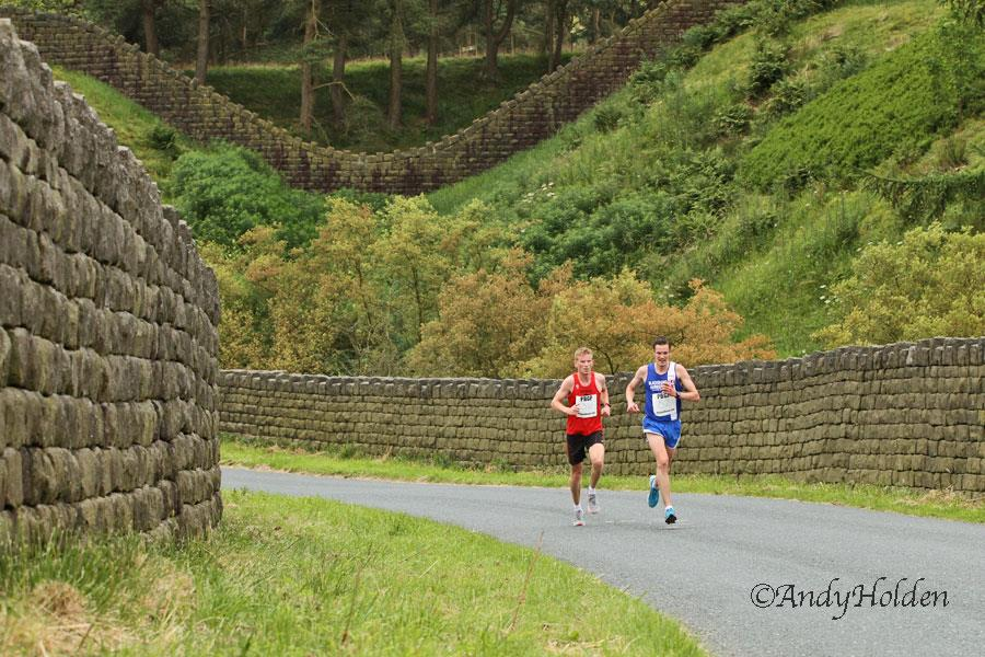 Hendon Brook (not for the faint hearted) – Todmorden & Lancaster 5k's – Shaun is part of winning Triathlon Team