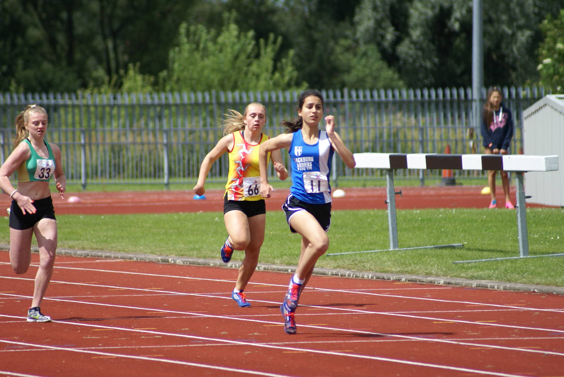 Promotion for the Harriers U13 and U15 Teams to Division One of the YDL with 24 new PB's at the final fixture