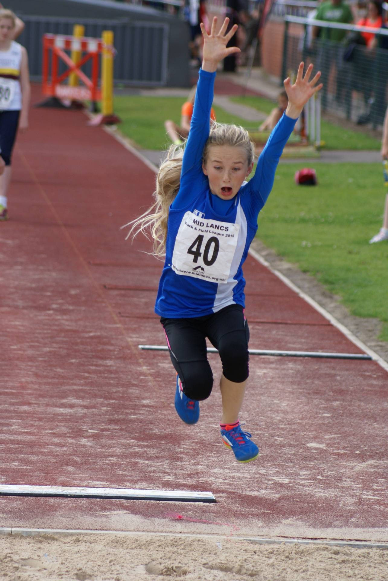 Mid Lancs T & F League at Leigh & Harriers youngsters still setting PB's