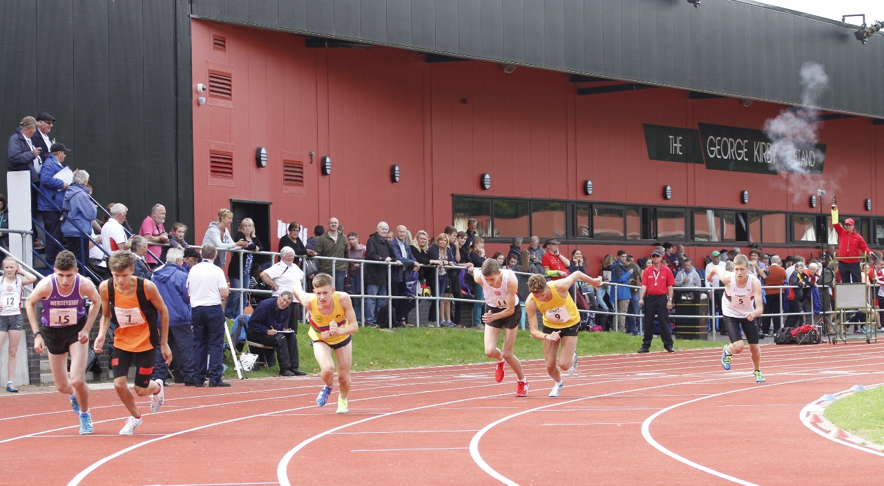 Northern Inter-Counties U15 & U17 T & F Championships at Blackburn's Witton Park Arena