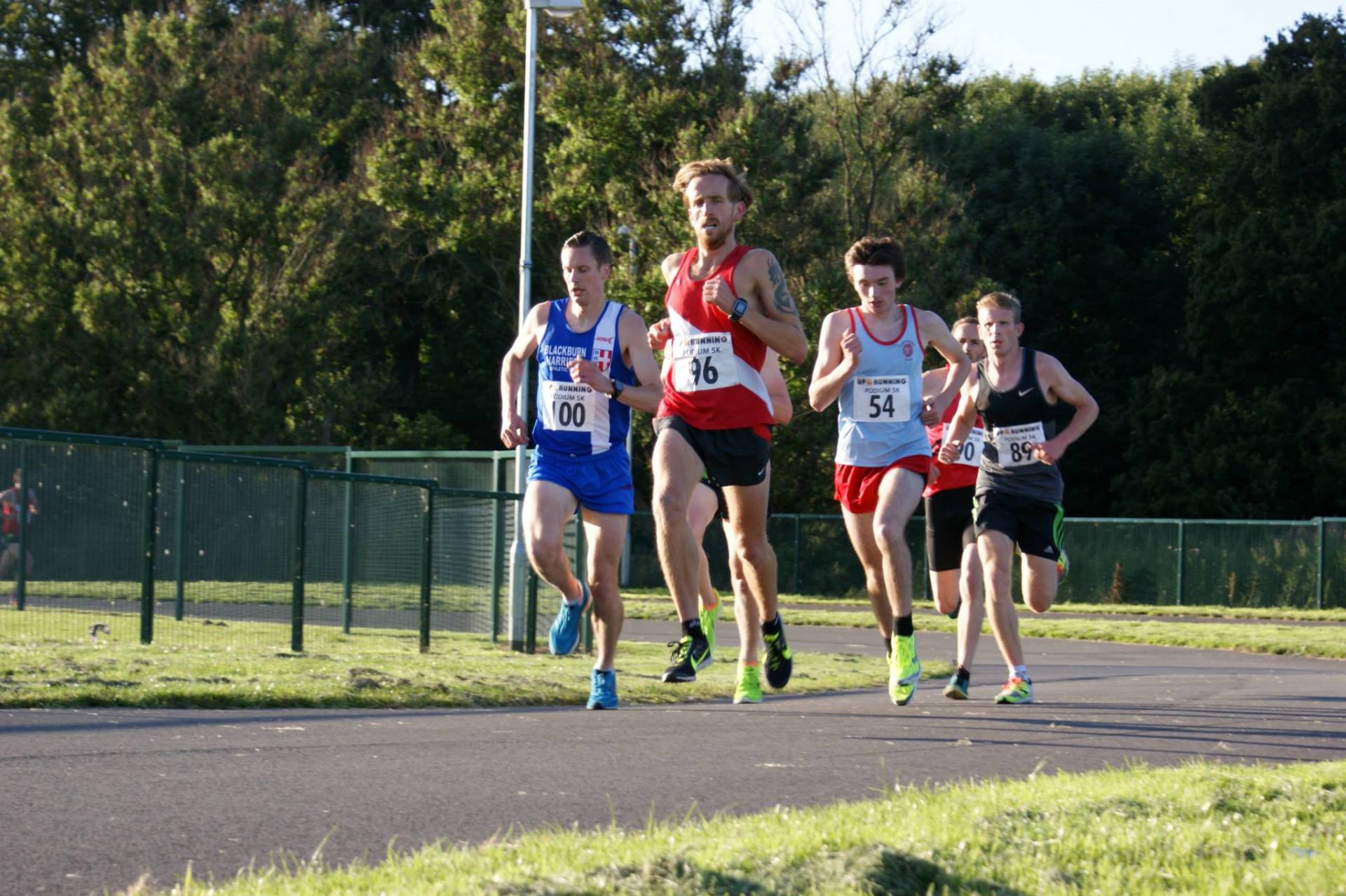 Podium 5k – Gary Wins the Burnley Grand Prix – Catforth 5k – Evan wins at Haigh Hall – Darwen Gala Race – New Witton Park 5k Run