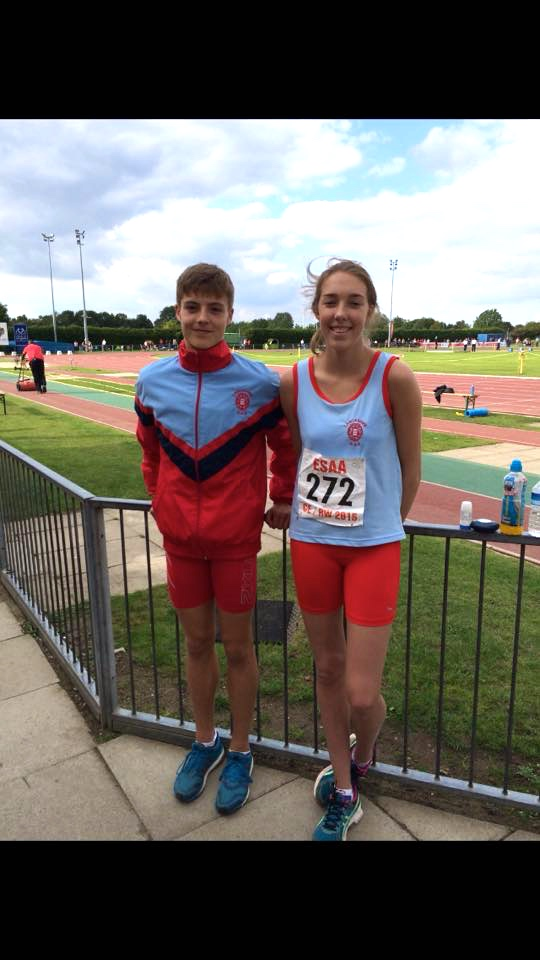 New Personal Bests and Club Record by Harriers Young Athletes at English Schools Combined Events Final