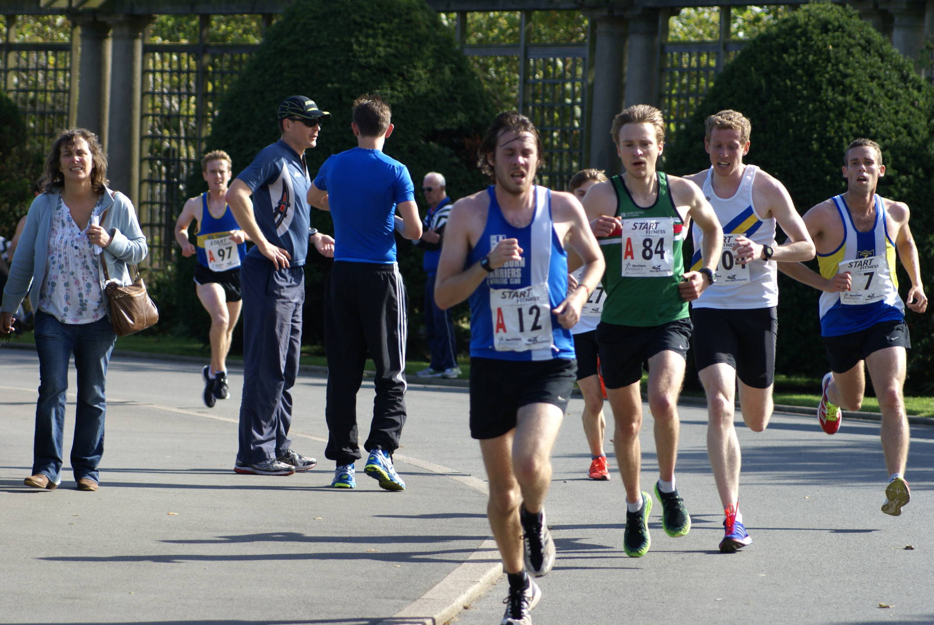 Good performances again for the Harriers at Northern Road Relays