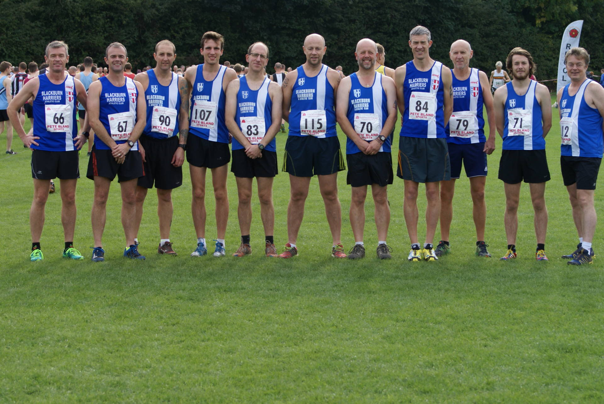 Individual and Team Wins for the Harriers at Red Rose Cross Country League