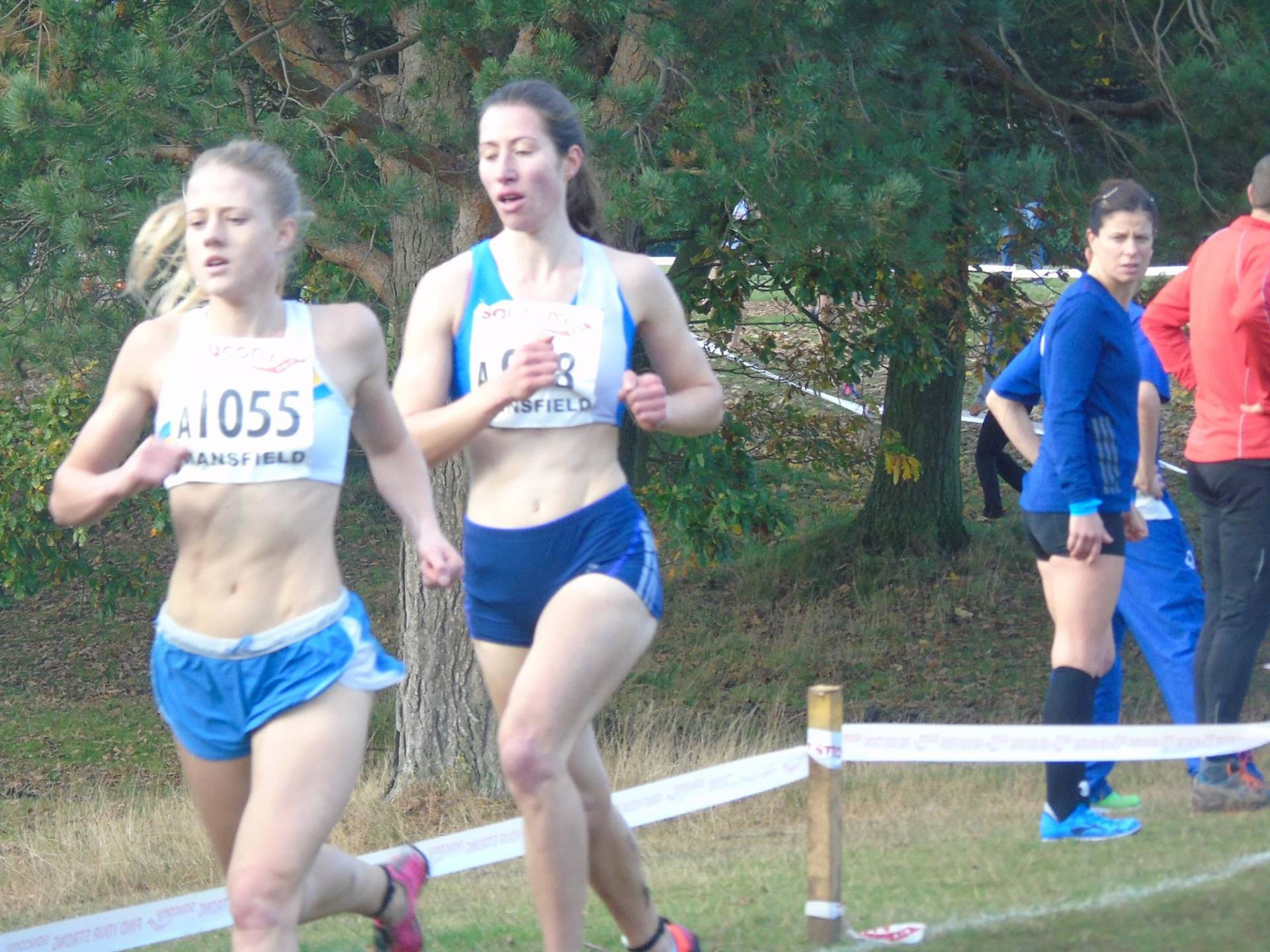 ECCA Relays at Mansfield – Thru The Villages – Park 5k Runs – Harriers in University Cross Country