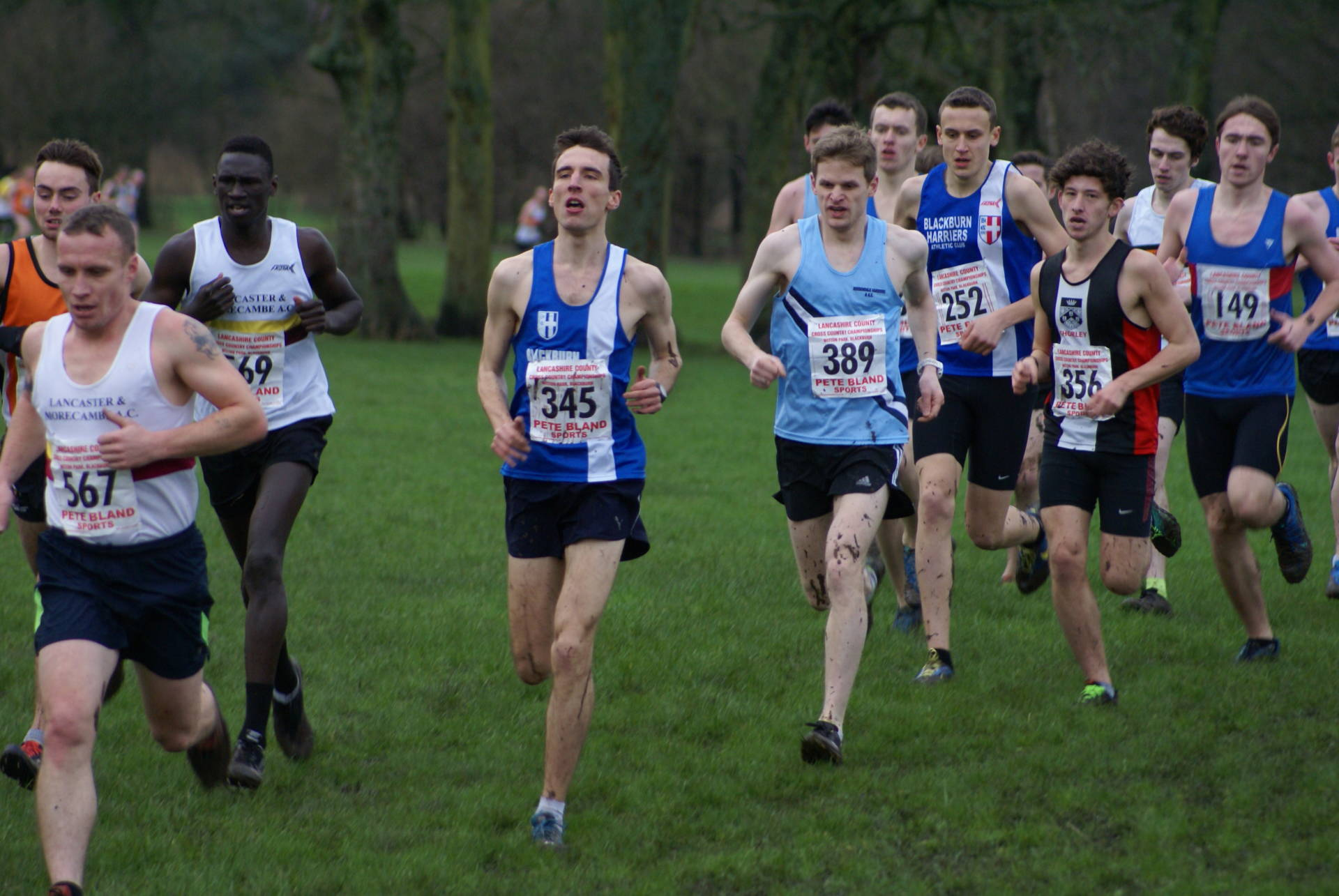 Harriers win sixteen Team & Individual Medals at Lancashire County XC Championships