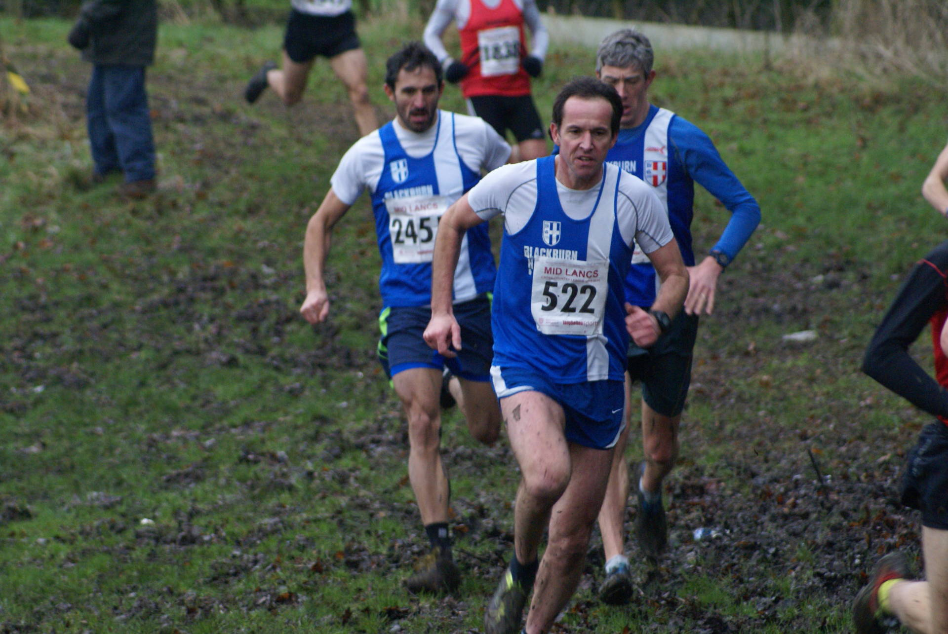 Individual and Team Wins at Hyndburn Mid Lancs Cross Country