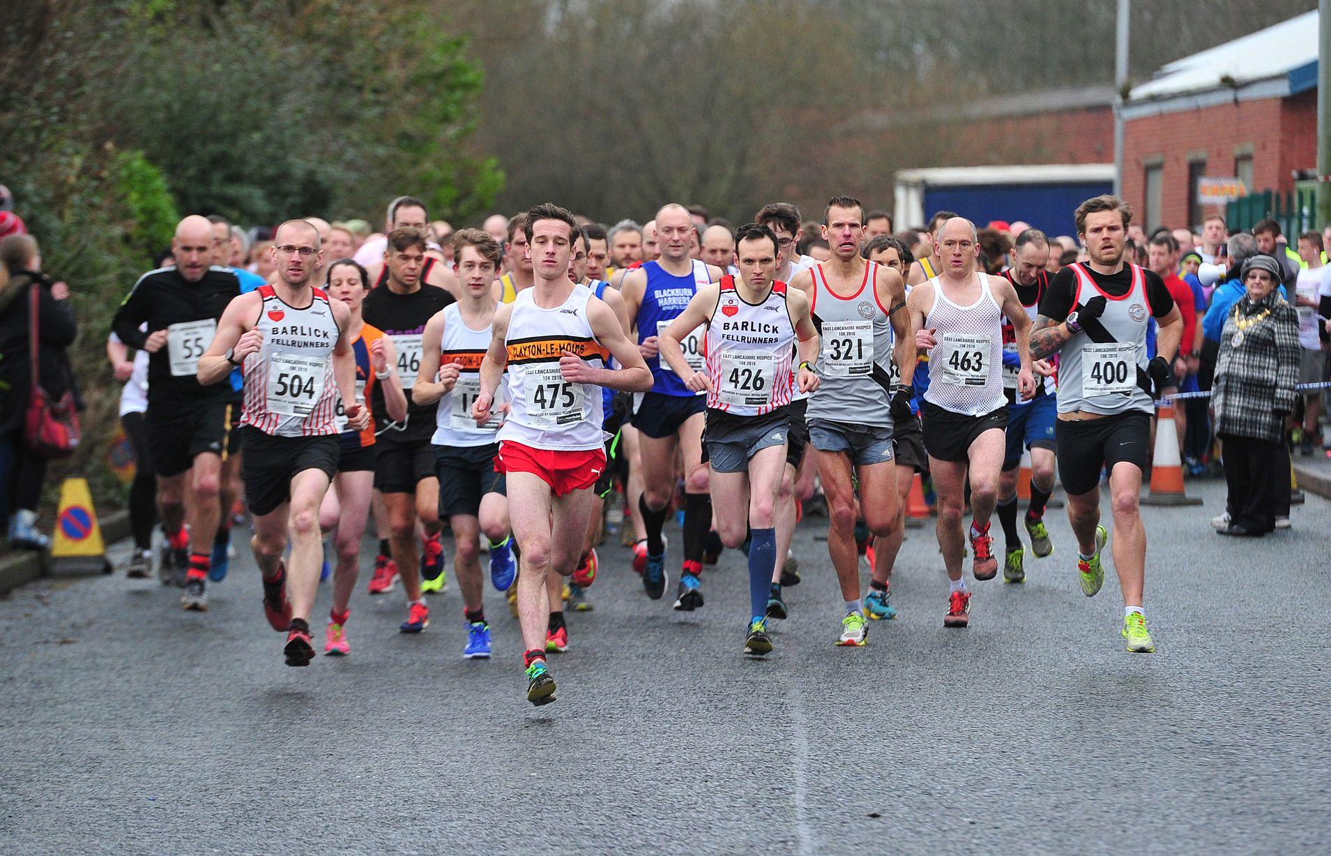 East Lancs Hospice 10k & Park Run Results