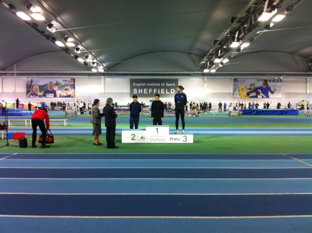 Ben wins Silver and Jamie PB's at Northern Indoors
